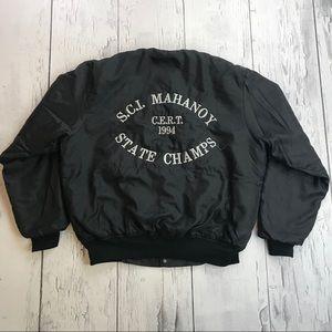 Vintage State prison Guard Bomber jacket 90's